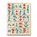 Coffret Montessori de lettres mobiles