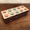 Briques des nombres en bois